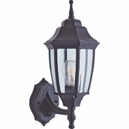 Boston Harbor BRT-BPP1611-BK One Light Black Wall Lantern