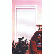 HomeBasix FWB-39X64 39 Inch Wx64 Inch H 2 Inch Faux Wood Blinds