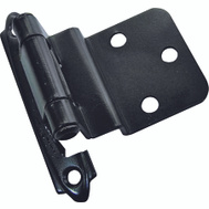 ProSource CH-117 Mintcraft 3/8 Inch Inset Oil Rubbed Bronze Self Closing Hinges