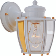 Boston Harbor HV-66961-WH White 1 Light Wall Lantern