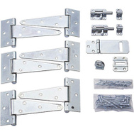 ProSource 33060ZCX Mintcraft Zinc Plated Shed Hardware Kit