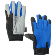 DiamondBack GV-965662B-L Thinsulate Synthetic Leather Palm Gloves Large