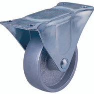 ProSource JC-S04 4 Inch Rigid Steel Wheel Plate Caster