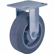 ProSource JC-T05 6 By 2 Inch Rigid Thermoplastic Rubber Plate Caster