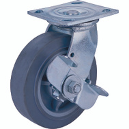 ProSource JC-T08 8 By 2 Inch Thermoplastic Rubber Plate Caster With Brake