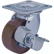 ProSource JC-P02 4 By 2 Inch Swivel Polyurethane Plate Caster