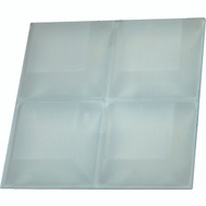 ProSource FE-S405 Mintcraft Self Adhesive Square Bumper Pads 3/4 Inch Clear 12 Pack