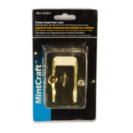 ProSource PDS25-62PB Mintcraft Privacy Pocket Door Latch 2-3/8 By 3-1/4 By 1-3/8 Inch Polished Brass