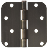 ProSource BH-402VB3L Mintcraft 4 Inch 5/8 Radius Door Hinges Venetian Bronze Pack Of 2