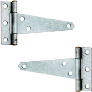 ProSource LTH-G06-C23L Mintcraft Light Duty T-Hinges 6 Inch Galvanized Steel 2 Pack