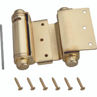ProSource LR-024-L3L Mintcraft 3 Inch Double Action Spring Hinge Satin Brass