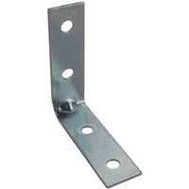 ProSource CB-Z02-013L Corner Brace 2 By 5/8 Inch Zinc Plated Steel Bulk