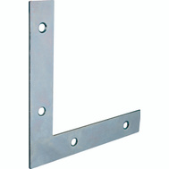 ProSource FC-Z04-013L Flat Corner Brace 4 By 5/8 Inch Zinc Plated Steel Bulk