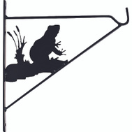Landscapers Select GF-3059 11 Inch Planter Bracket Frog