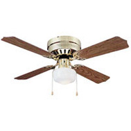 Boston Harbor CF-78125 Fan Ceil 42In 4Bld/1Lt Hugr Pb