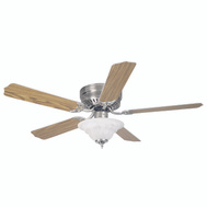 Boston Harbor CF-B-652+1F242BN Fan Ceiling 52In 5Blade/2Lt Bn