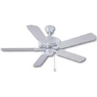 Boston Harbor CF-78092 Fan Ceil 52In 5Bld Out Chn Wht