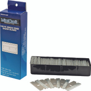 Mintcraft JL-BD-173L 100 Piece Single Edge #9 Razor Blades 0.25 Thickness