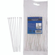ProSource CV280-253L 11 Inch Cable Tie 50 Pound 25 Piece Clear