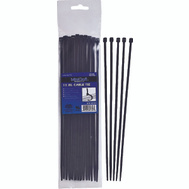 ProSource CV200SW-253L 8 In Cable Tie 40 Pound 25 Piece Black