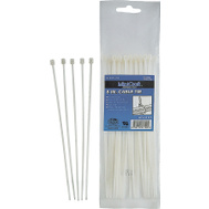 ProSource CV190-1003L 7.5 Inch Cable Tie 50 Pound 100 Piece Clear