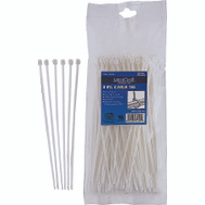 ProSource CV200S-1003L 8 Inch Cable Tie 40 Pound 100 Piece Clear