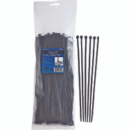 ProSource CV280W-1003L Cable Ties 11 Inch 50 Pound Black 100 Piece
