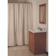 HomeBasix SD-MCP01-B3L Shower Curtain Vinyl Bge 70X72