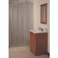 HomeBasix SD-MCP01-F3L Shower Curtain Vnyl Frst 70X72