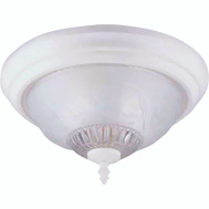 Boston Harbor F155WW02-1068EC3L Fixture Ceil 2Lt Flrl/Leaf Wht
