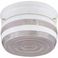 Boston Harbor F14WH02-8002CL3L Fixture Ceil 2Lt Prismatic Wht