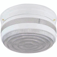 Boston Harbor F15WH02-10043L Fixture Ceil 2Lt Flush Clr/Wht