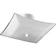 Boston Harbor F98WH02-12643L Fixture Ceil 2Lt Semi Sq White
