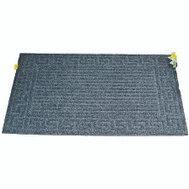 Simple Spaces 06ABSHE-02-3L Crumb Rubber Floor Mat 18 Inch By 30 Inch