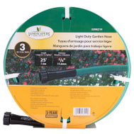 Landscapers Select GH-585013L Garden Hose PVC 25 Foot 5/8 Inch 3 Ply