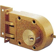 ProSource 6224331-3L ToolBasix Jimmy Proof Double Cylinder Deadlock With Shutter Guard Golden Finish