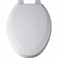 ProSource T-19WM-B-3L Toilet Seat Elongated Bone 19 Inch