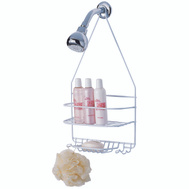 Simple Spaces SS-SC-25-CH-3L Shower Caddy Small Chrome