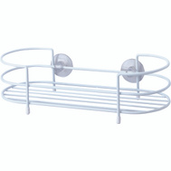 HomeBasix SS-SC-29-PE-3L Shower Caddy Tray White