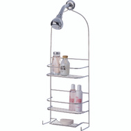 HomeBasix SS-5786-CH-3L Shower Caddy Chrome