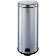 HomeBasix LYP30F3-3L Step Trash Can Round 30L Stainless Steel