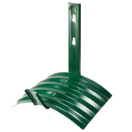 Landscapers Select GB-5227-3L Wall Mount Garden Hose Hanger Metal Green Finish
