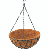 Landscapers Select GB-4303-3L 12 Inch Hanging Basket With Coconut