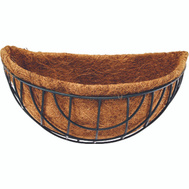 Landscapers Select GB-4315-3L Wall Mount Coco Planter 14 Inch