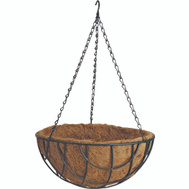 Landscapers Select GB-4337-3L 14 Inch Hanging Basket Planter