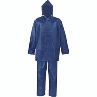 DiamondBack SPU045-L Rainsuit Polyester Blue 2Pc L