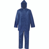 DiamondBack SPU045-XXL Rainsuit Polyester Blu 2Pc 2Xl