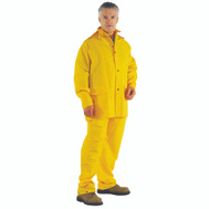 DiamondBack OX025PU-M Rainsuit Polyester Ylw 3Pc Med