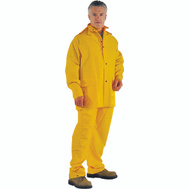 DiamondBack OX025PU-L Rainsuit Polyester Ylw 3Pc Lrg