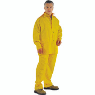 DiamondBack OX025PU-XL Rainsuit 3 Piece Polyester Yellow Extra Large